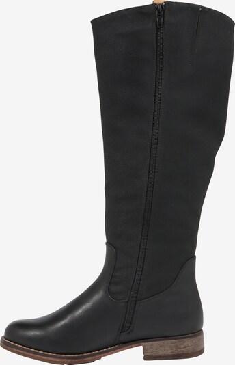 RIEKER Stiefel in schwarz: Seitenansicht
