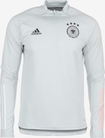 ADIDAS PERFORMANCE Trainingssweat 'DFB EM 2020' in hellgrau / apricot / schwarz / weiß, Produktansicht
