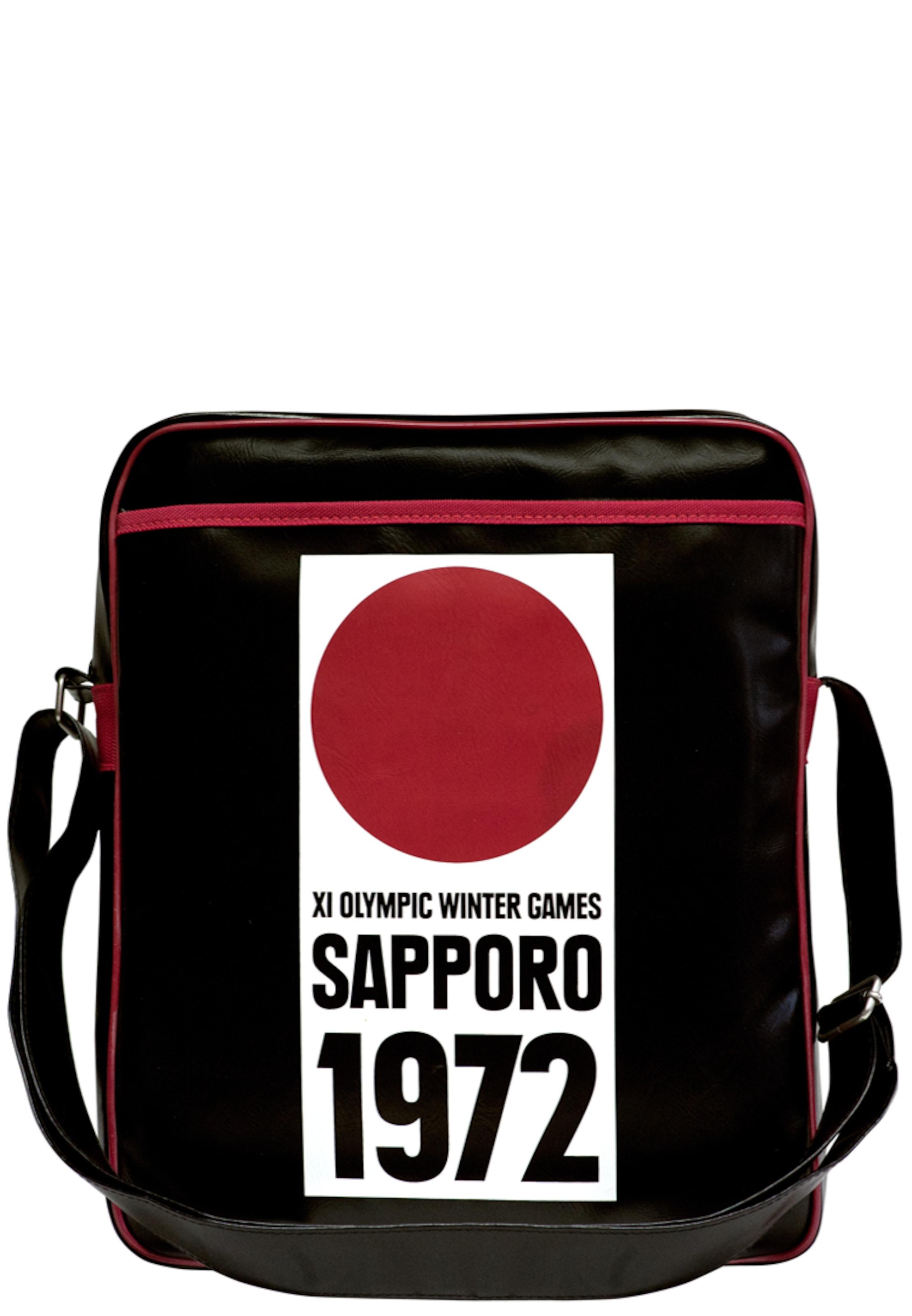 Tasche Winterspiele In 'sapporo RotSchwarz Weiß Logoshirt 1972' Olympische QordxCBeWE