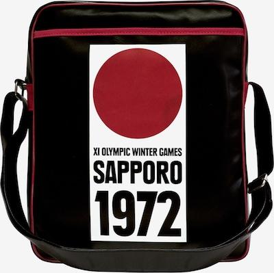 LOGOSHIRT Crossbody Bag 'Sapporo 1972' in Red / Black / White, Item view