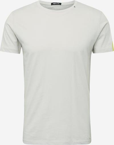 REPLAY T-Shirt en jaune / gris clair, Vue avec produit