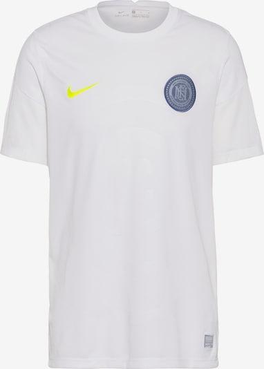 NIKE Fußballtrikot 'FC' in neongelb / weiß, Produktansicht