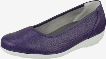 Natural Feet Ballet Flats 'Catharina' in Purple