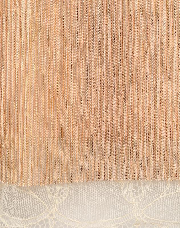 Review Spaghetti-Kleid in Schimmer-Optik