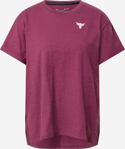 UNDER ARMOUR T-shirt fonctionnel 'Project Rock CC SS' en violet, Vue avec produit