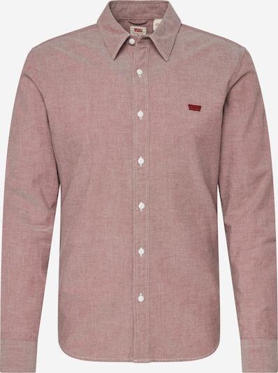LEVI'S Overhemd 'LS BATTERY HM SHIRT SLIM' in de kleur Wijnrood, Productweergave