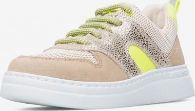 CAMPER Sneaker 'Runner Up' in beige / creme / neongelb / silber, Produktansicht