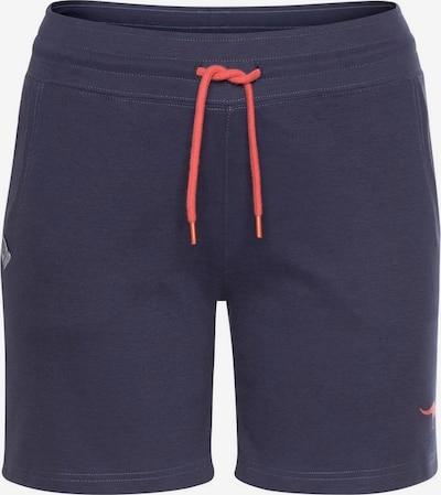 KangaROOS Shorts in marine / lachs, Produktansicht