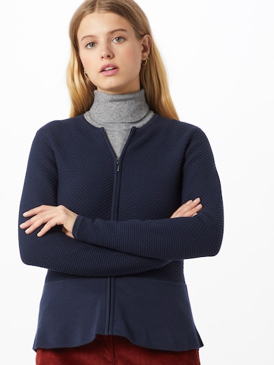 Esprit Collection Strickjacke in navy, Modelansicht