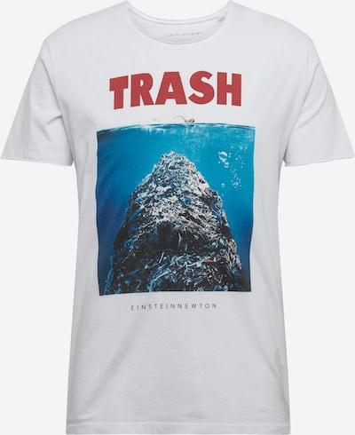 EINSTEIN & NEWTON T-Shirt en bleu / rouge / blanc, Vue avec produit