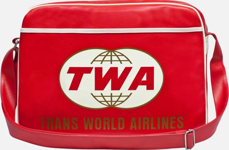 LOGOSHIRT Tasche 'TWA Airlines'