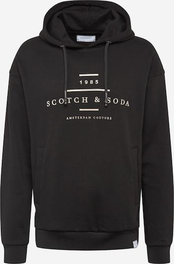 SCOTCH & SODA Mikina - čierna: Pohľad spredu
