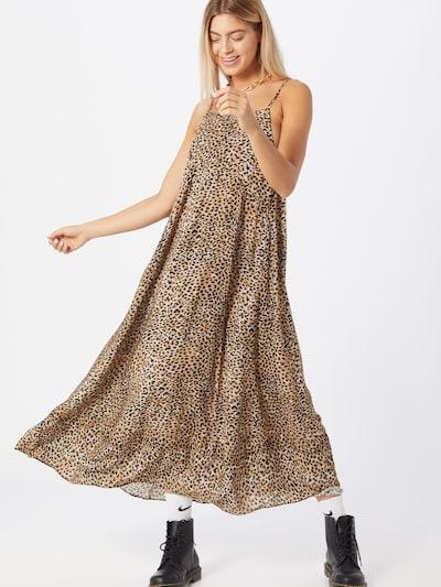 Rochie de vară Ragdoll LA pe bej / maro / maro închis, Vizualizare model