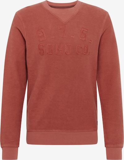 JACK & JONES Sweatshirt 'CARTER' in rostrot, Produktansicht