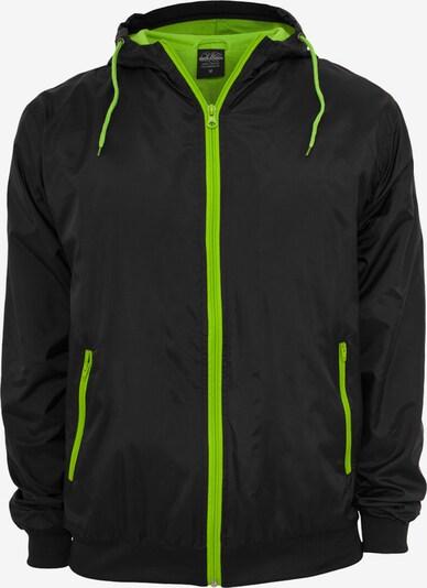 Urban Classics Jacke in neongrün / schwarz, Produktansicht