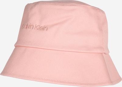 Megzta kepurė iš Calvin Klein , spalva - rožinė, Prekių apžvalga