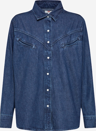 LEVI'S Bluse 'DORI' in blue denim, Produktansicht