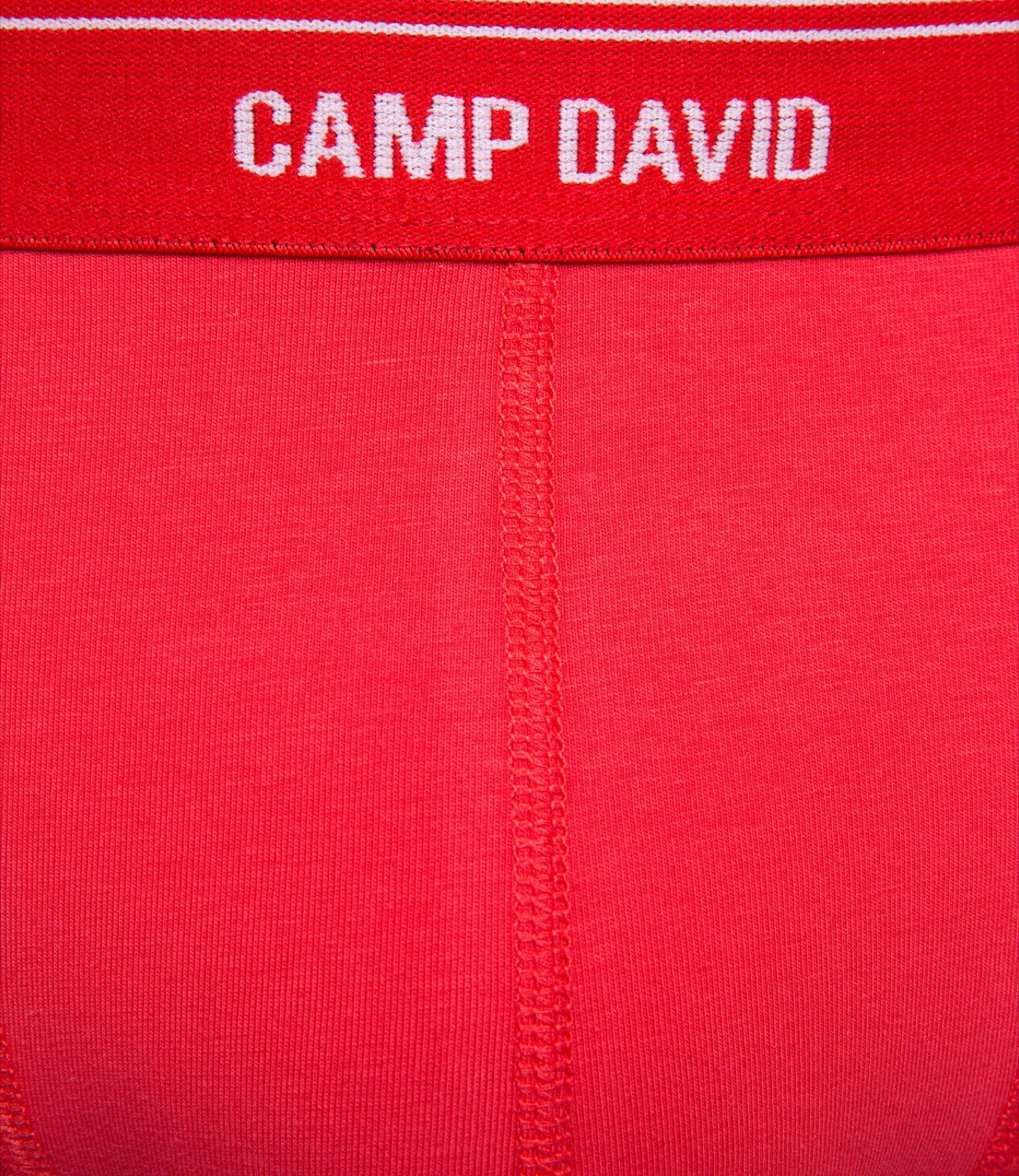 Boxershorts David Camp In Rot Camp Boxershorts David SGMVpzqU
