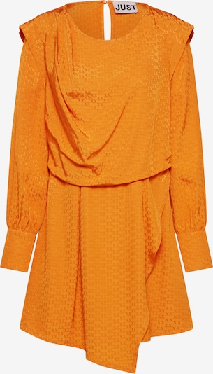 JUST FEMALE Kleid 'Shira' in orange, Produktansicht