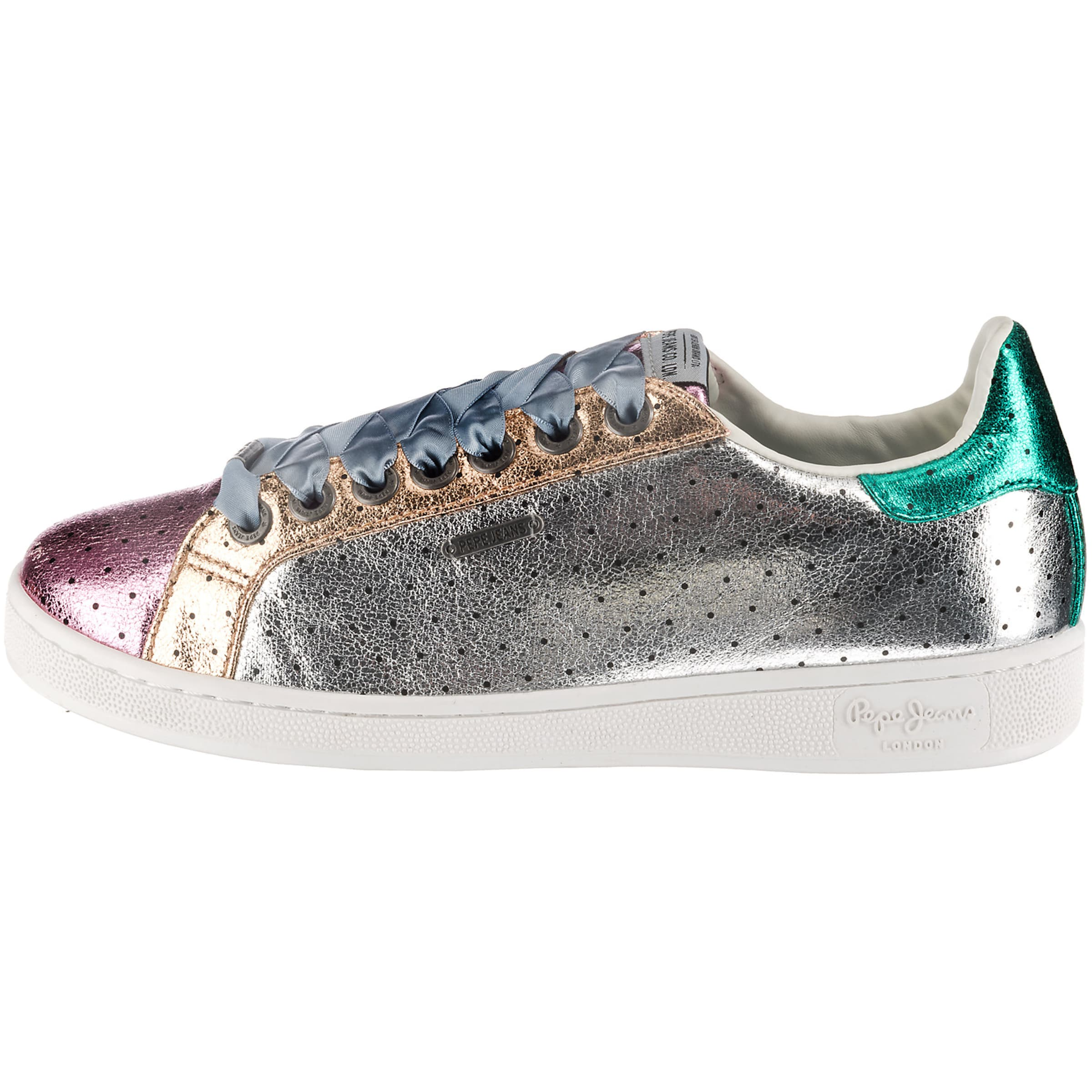 Jeans Pink Pepe In Silber Sneakers GoldJade trQdshCx