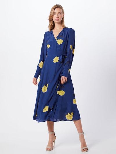 IVY & OAK Sukienka w kolorze ciemny niebieski / żółty / czarnym: Widok z przodu