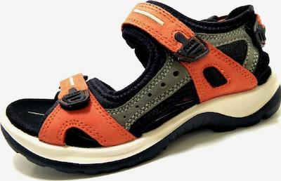 ECCO Sandalen 'Offroad' in orange / dunkelorange / schwarz, Produktansicht