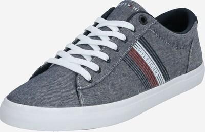 TOMMY HILFIGER Sneakers laag in de kleur Donkerblauw / Grijs / Rood / Wit, Productweergave