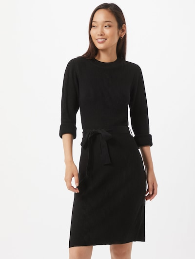 VILA Strickkleid 'Wulva' in schwarz, Modelansicht