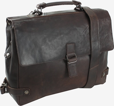 Harold's Notebookmappe 'R.Johnson' in dunkelbraun, Produktansicht