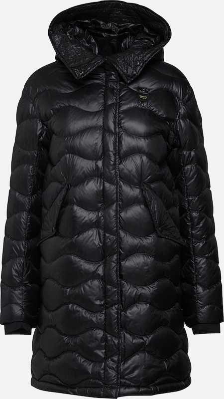 Blauer.USA Parka 'IMPERMEABILE TRENCH LUNGHI IMBOTTITO' in