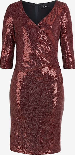 Vera Mont Abendkleid knielang in bordeaux, Produktansicht