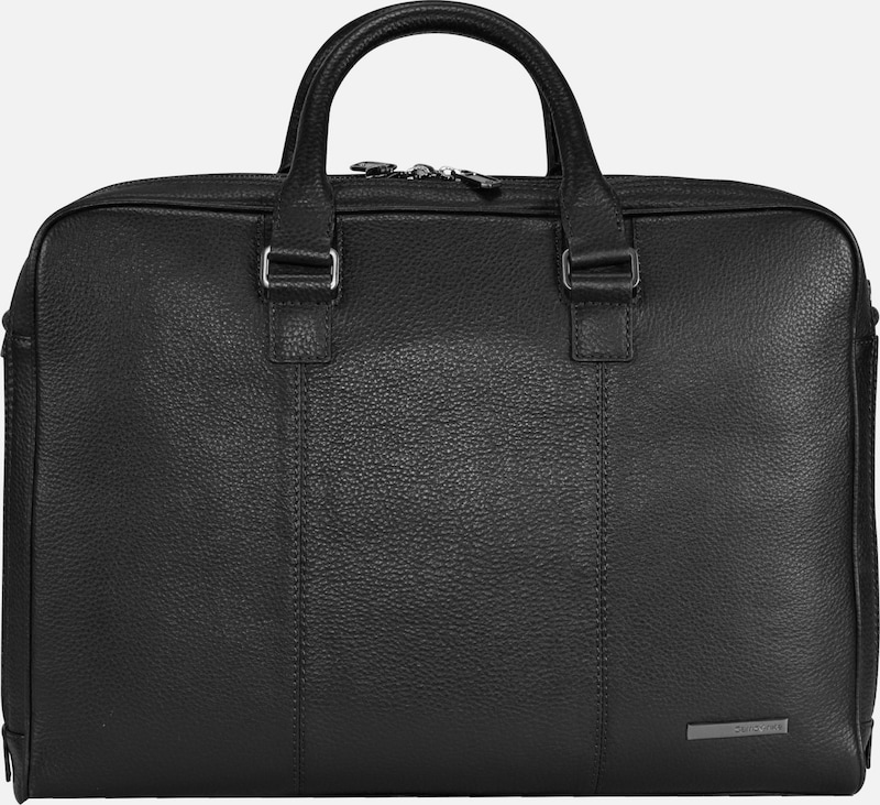 SAMSONITE Equinox Aktentasche Leder 42 cm Laptopfach