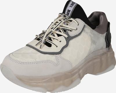 BRONX Sneaker Low in grau / schwarz / weiß, Produktansicht