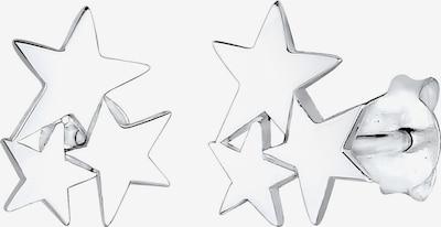 ELLI Ohrringe 'Astro' Sterne in silber, Produktansicht