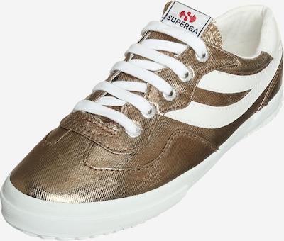 SUPERGA Sneaker in bronze / weiß, Produktansicht
