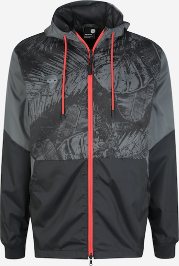 UNDER ARMOUR Sport-Jacke 'Project Rock Legacy' in dunkelgrau / schwarz, Produktansicht