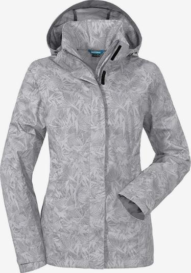 Schöffel Outdoorjacke in grau / weiß, Produktansicht