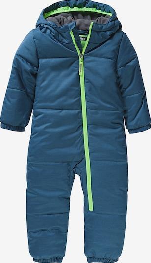 myToys-COLLECTION Schneeanzug in türkis / dunkelblau, Produktansicht