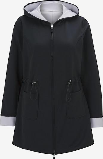 heine Jacke in schwarz / weiß, Produktansicht
