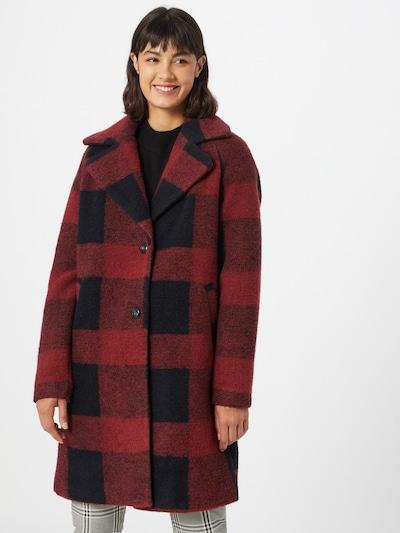 ONLY Mantel 'VICKI' in nachtblau / rotviolett, Modelansicht