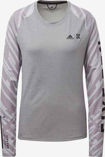 ADIDAS PERFORMANCE Functioneel shirt in de kleur Grijs / Pastellila, Productweergave