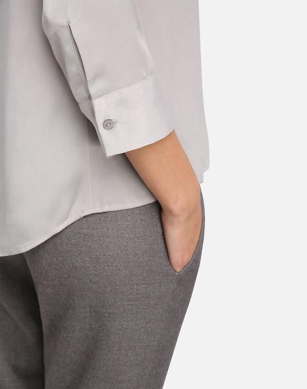 APART Satinbluse mit überschnittenen Schultern