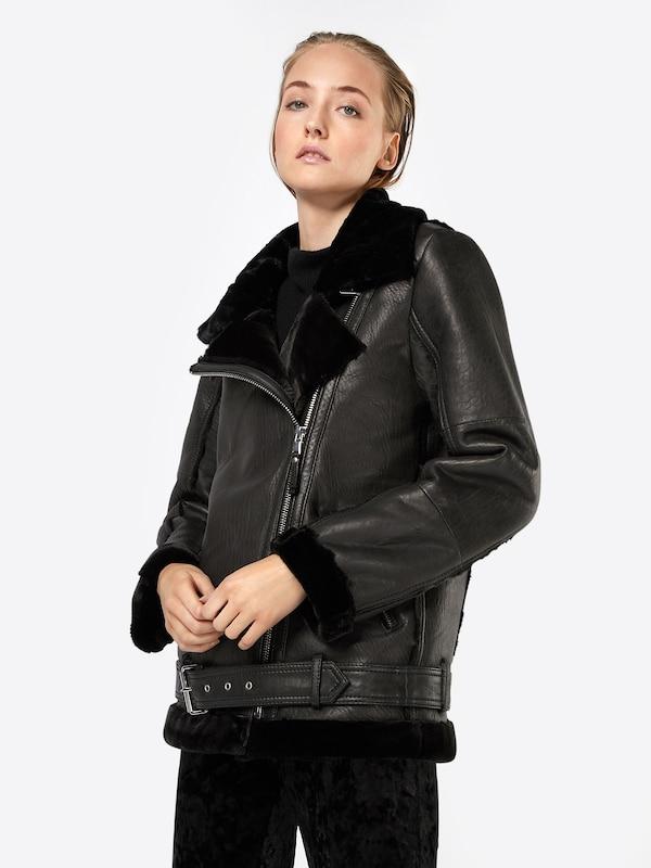 Edgy En Be Veste Noir 'alexa' D'hiver GVLqSUzMp
