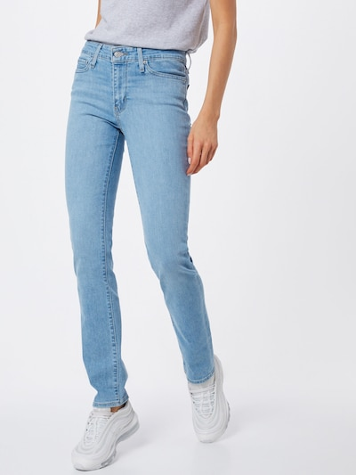 LEVI'S Jeans '712' in blue denim, Modelansicht
