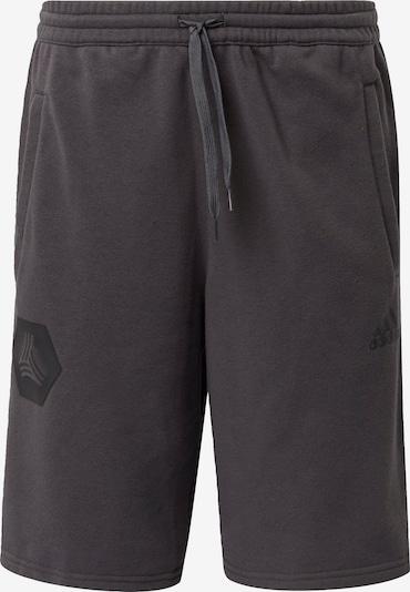 ADIDAS PERFORMANCE Sportbroek in de kleur Donkergrijs / Zwart, Productweergave