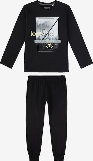 Miego kostiumas iš SANETTA , spalva - opalo / geltona / pilka / tamsiai pilka / juoda, Prekių apžvalga