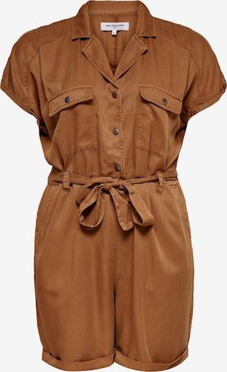 ONLY Carmakoma Jumpsuit in de kleur Bruin, Productweergave
