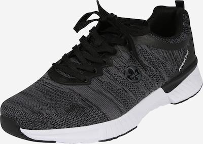 RIEKER Sneaker in grau / schwarz, Produktansicht