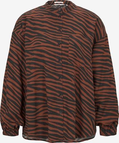 TOM TAILOR Bluse in rostbraun, Produktansicht