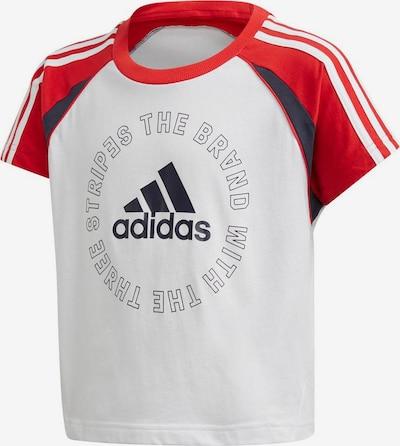 ADIDAS PERFORMANCE Shirt in rot / weiß, Produktansicht